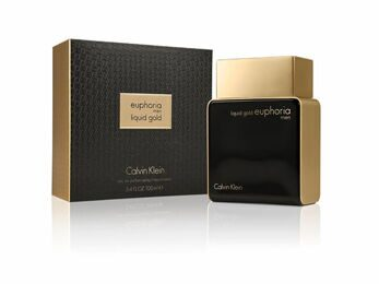 CALVIN KLEIN EUPHORIA LIQUID GOLD FOR MEN EDT 100ML