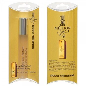 PACO RABANNE ONE MILLION FOR MEN EDT 15 ML NEW