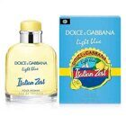 ОРИГИНАЛ DOLCE & GABBANA LIGHT BLUE ITALIAN ZEST 125ml M
